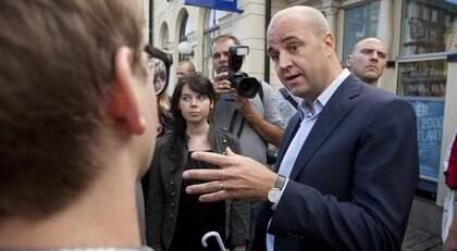 Fredrik Reinfeldt. Foto: Stig-Åke Jönsson / Scanpix