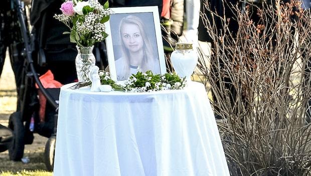 """Manifestation hölls för Tova Moberg: """"Känns otroligt sorgligt"""""""