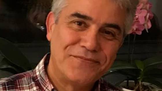 """Ali Zeinali Khamir Gir, 59, fick hjälpa kvinnan i taxin att förlösa barnet. """"Jag kommer aldrig glömma det"""", säger han timmar senare. Foto: Privat"""