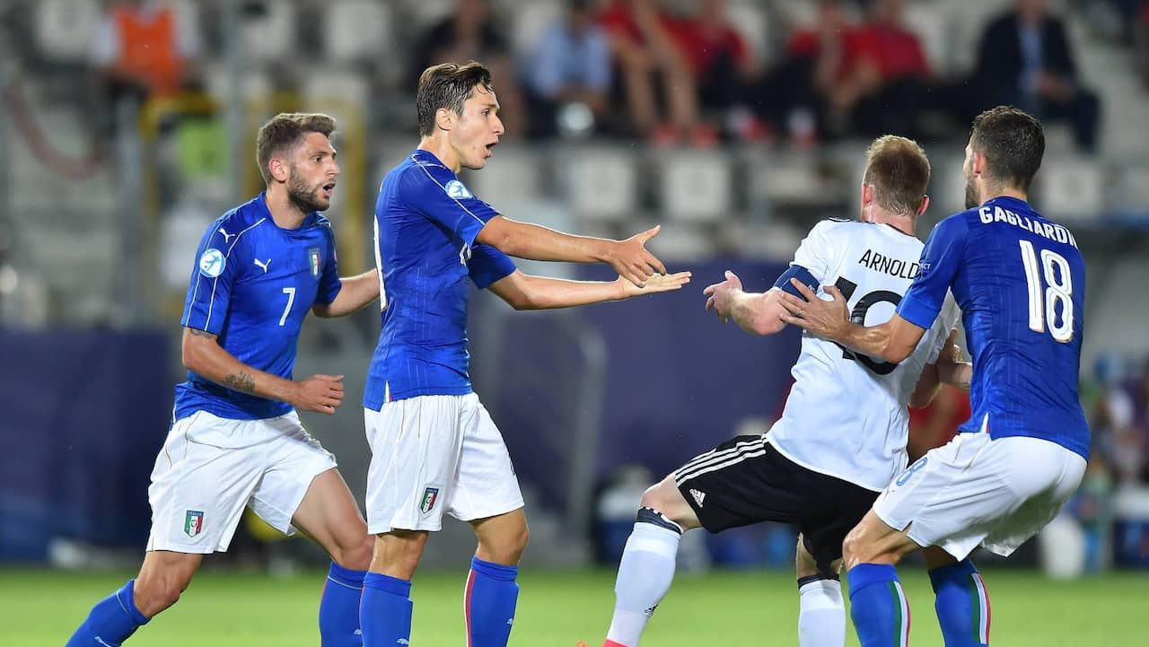 tyskland italien fotboll