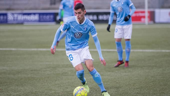 Laorent Shabani debuterade för Malmö FF. Foto: MATS JAVERUD / PIC-AGENCY / 15454 PIC-AGENCY SWEDEN AB