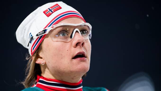 Maiken Caspersen Falla blev tvåa. Foto: CARL SANDIN / BILDBYRÅN
