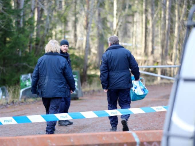 På fredagen fick familjen beskedet att den kropp som hittats i ett skogsparti var Madelenes. Foto: Stefan Johansson Sthlm Ab