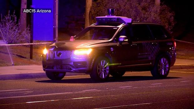 Kvinna död – träffad av självkörande Uber-bil i USA