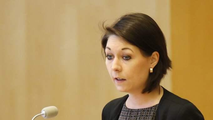 Maria Ferm (MP). Foto: Christine Olsson/Tt / TT NYHETSBYRÅN