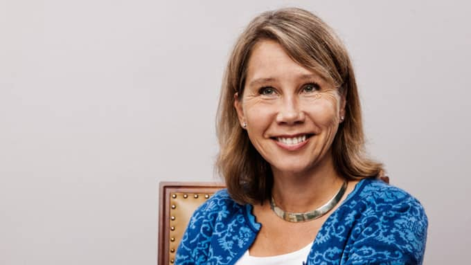 Petra Hedengran, 53, tjänar näst mest. Foto: / PRESSBILD