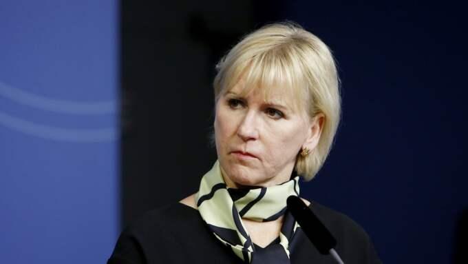 Margot Wallström placerar sig på plats nummer åtta på Simon Wiesenthalcentrets lista över årets mest antisemitiska och anti-Israel händelser. Foto: PATRIK C ÖSTERBERG/IBL