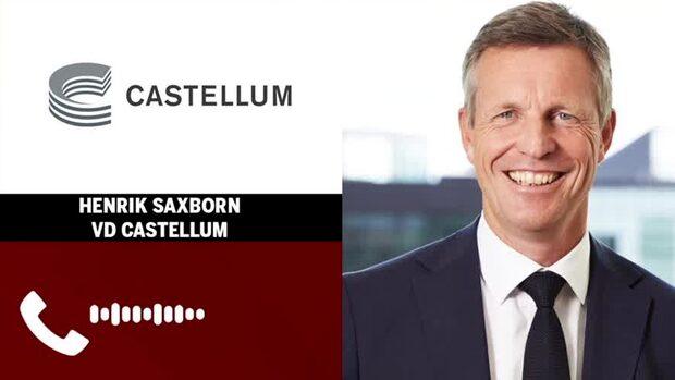 """Castellums vd: """"Trodde att det skulle se sämre ut"""""""