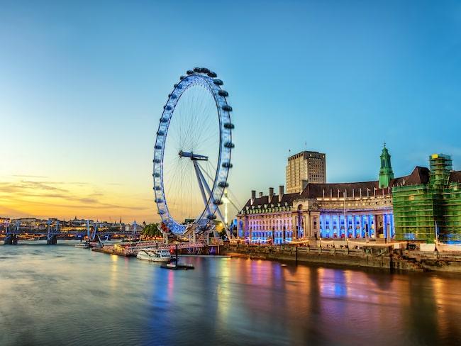Njut av choklad, prosecco och fantastisk utsikt i London Eye.