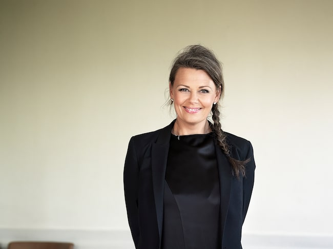 Charlotte Eisner, som är elbilsexpert hos företaget Defa.