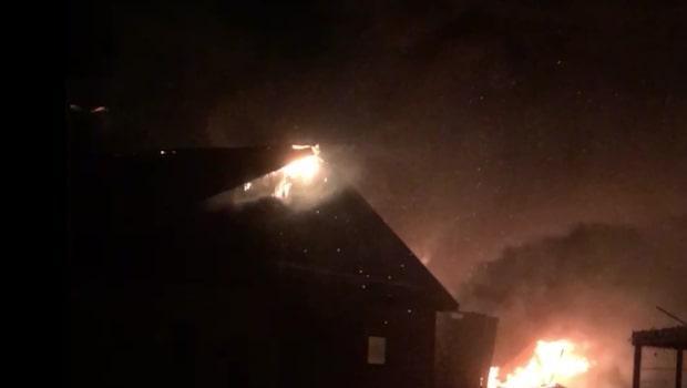 Två bränder på kort tid utanför Kristianstad