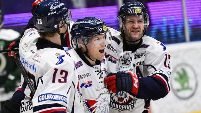Förra säsongen åkte Linköping ut i kvartsfinal. Foto: FREDRIK KARLSSON / BILDBYRÅN