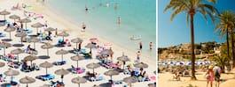 Klimatlarm: Mallorcas stränder försvinner