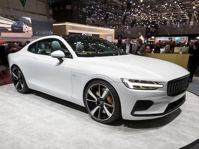 Volvos elbilsmärke Polestar ska snart lansera sin första bil, Polestar 1.