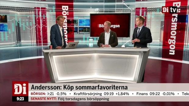 Andersson: Förvärvsbolag favoriter i sommar