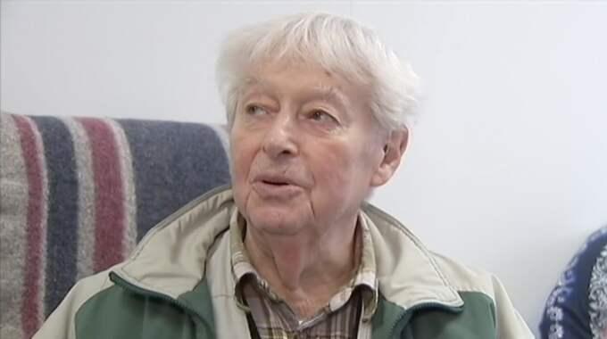 Alfred Endl, 90. Foto: SVT