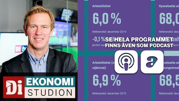 """Ekonomistudion - SCB sågas efter jobbsiffrorna: """"Inte rimligt"""""""