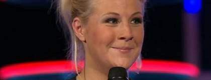 Den fjärde och sista platsen gick till Camilla Håkansson. Foto: TV4