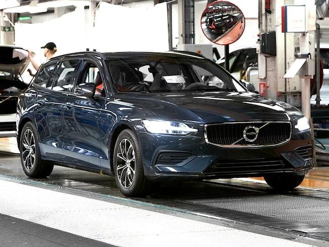 Den efterlängtade första Volvo V60 från den svenska fabriken.