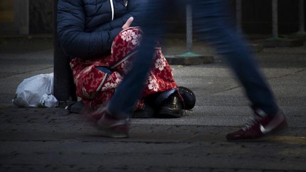 Tiggare attackerades utanför butik –då startade Aimo en insamling