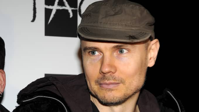 Billy Corgan, sångare i Smashing Pumpkins, gillar Donald Trump. Foto: © SCOTT HARRISON / RETNA LTD.