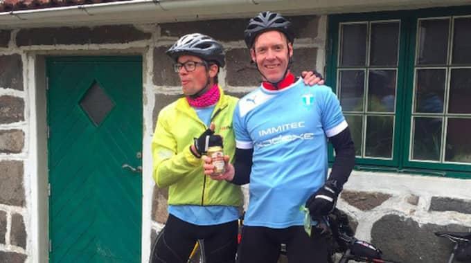 MFF-supportrarna ska cykla hela vägen från Swedbank stadion till Jämtkraft Arena i Östersund.