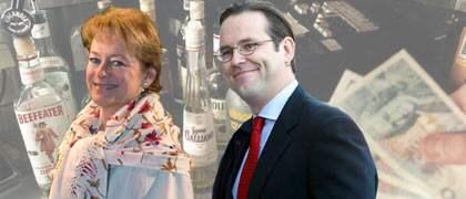 Kulturminister Lena Adelsohn Liljeroth och finansminister Anders Borg var med på moderaternas konferens som betalades av skattebetalarna.