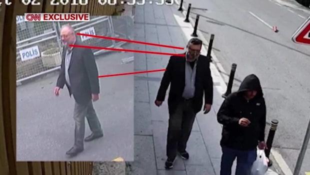Nya bilder: Misstänkt mördare klädde ut sig till Khashoggi