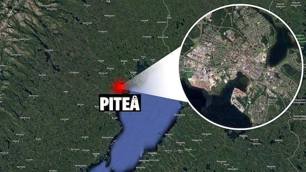 Fem personer till sjukhus efter allvarlig olycka i Piteå