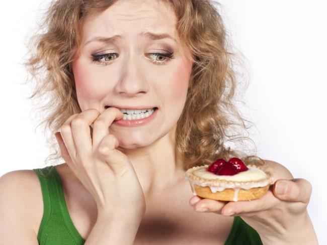 sötsugen efter maten