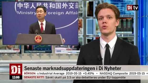Di Nyheter 12:00 – Kinas svar på nationella nödläget