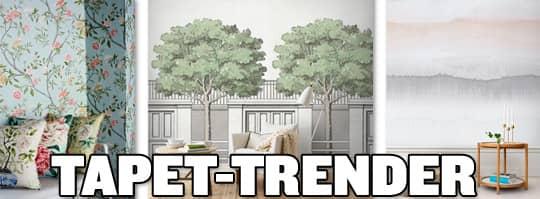 Tapeter u2013 härär 18 av vårens snygga trender Leva& bo