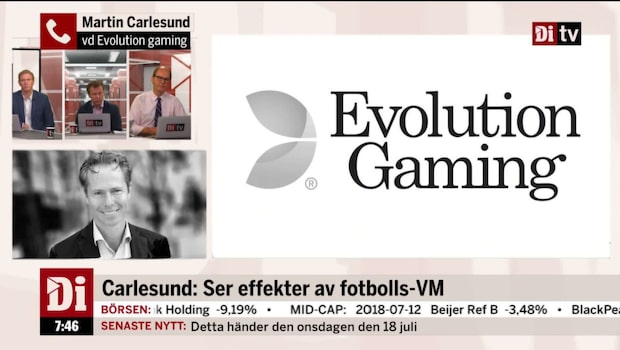"Evolution Gamings vd: ""Ser effekter av fotbolls-VM"""