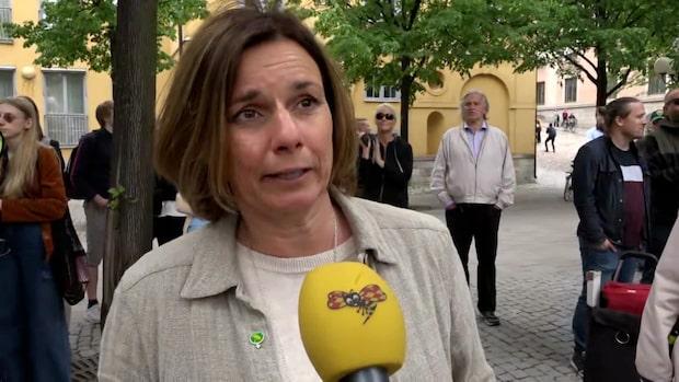 """Isabella Lövin (MP): """"Vi måste rädda planeten"""""""