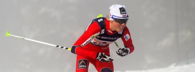 Norskan Kristin Störmer Steira har gjort klart att hon vill testa banorna. Foto: Christof Koepsel