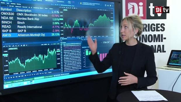 Marknadskoll: Börsen backar - Bottennotering för Readly