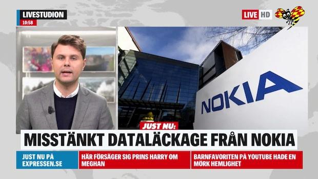 Misstänkt dataläckage från Nokia