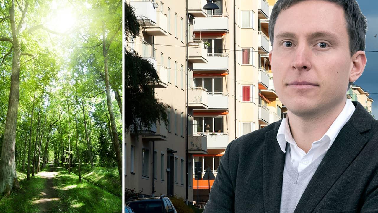 Handelskammaren vill bygga bostader i naturreservat