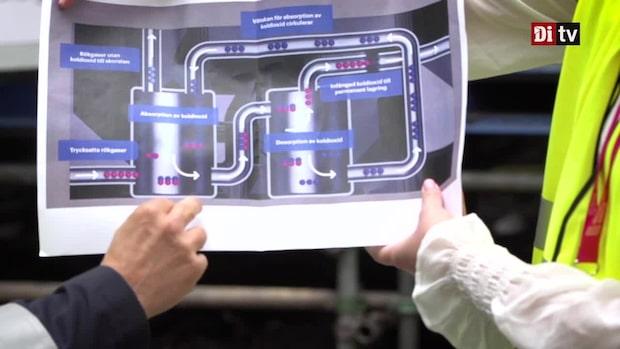 Här är tekniken som ska minska koldioxiden i atmosfären