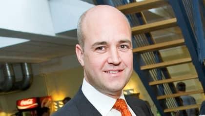Statsminister Fredrik Reinfeldt kommenterade fusket med rotavdraget. Foto: Christian Örnberg
