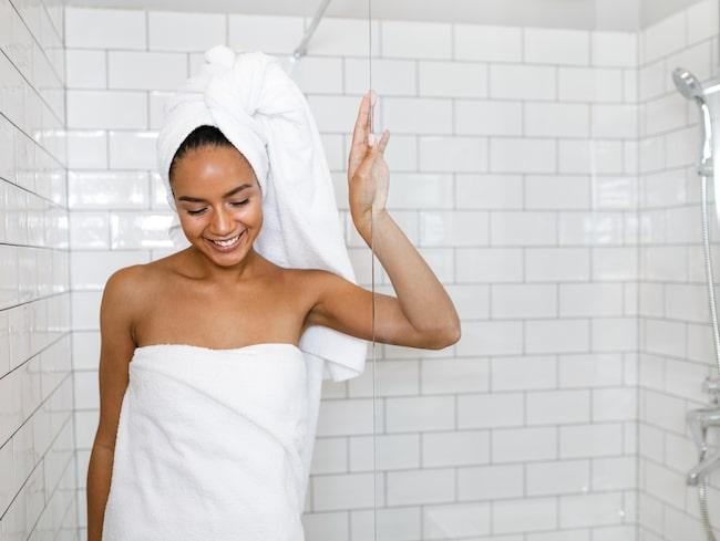 Att byta handduk en gång i veckan – det är för lite enligt experterna.