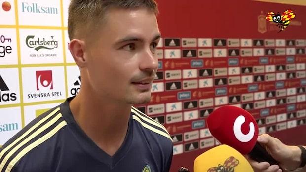 "Mikael Lustig: ""Det är en fantastisk arena"""
