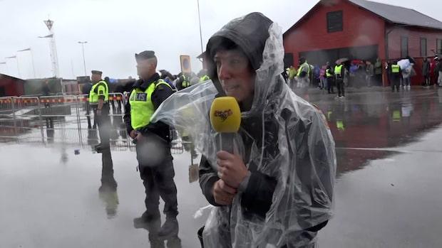 """NMR håller torgmöte i Visby: """"Det är extremt kallt"""""""