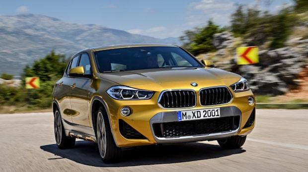 Vi testar nya suven BMW X2
