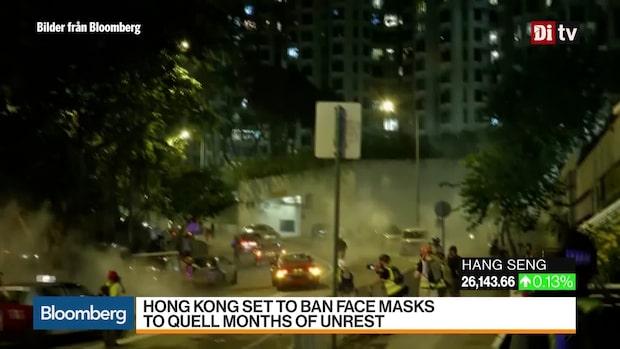 Världens Affärer: Hongkong överväger maskeringsförbud