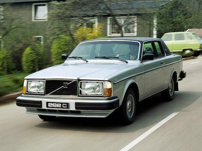 Volvo 262C, en modell som gick på export till USA.