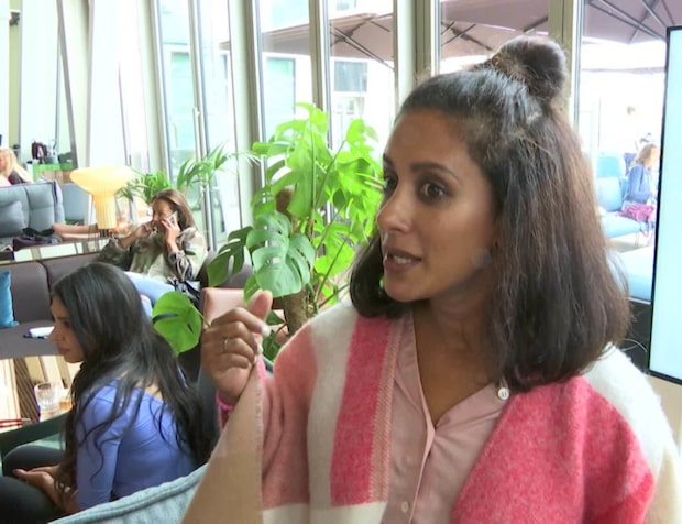 Anitha Schulman hamnade mitt i jordbävningen