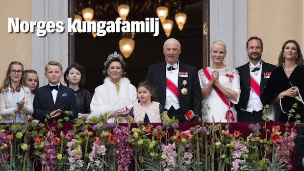 Det här är den norska kungafamiljen