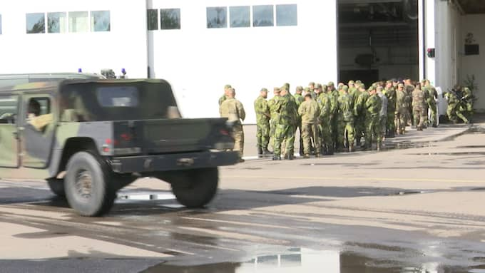 Militärfordon och militärer har intagit Göteborg under de senaste dagarna. Foto: GT