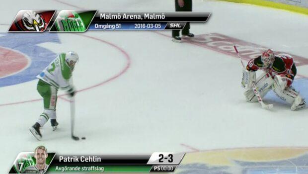 Highlights: Malmö - Rögle: 2-3 (efter straffar)